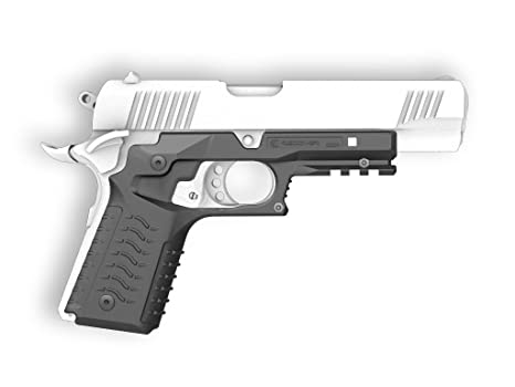 Amazon.com : Recover Tactical CC3H 1911 Grip and Rail System No ...