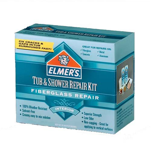 Amazon.com: Elmeru0027s E769 Tub And Shower Fiberglass Repair Kit: Home  Improvement