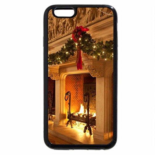 iPhone 6S / iPhone 6 Case (Black) Biltmore Christmas