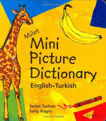 Milet Mini Picture Dictionary: English-Turkish (Best Turkish English Dictionary)
