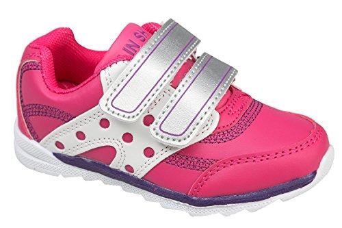 gibra - Zapatillas de Material Sintético para niño 36 Rosa - rosa