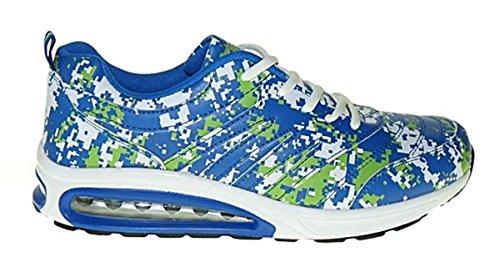 Bootsland Art 362 Neon Luftpolster Turnschuhe Schuhe Sneaker Sportschuhe Neu