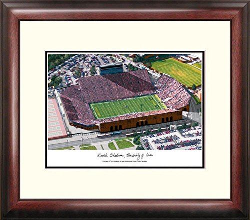 University of Iowa Hawkeyes Framed Lithograph Print by Landmark Publishing