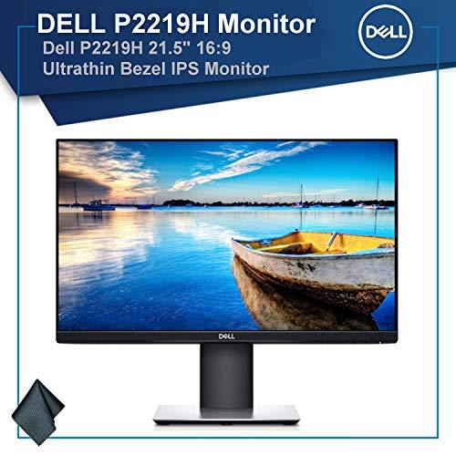 """Dell P2219H 21.5"""" 16:9 Ultrathin Bezel IPS Monitor Bundle"""