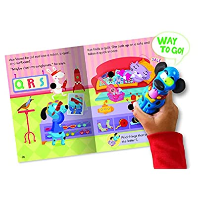 Educational Insights Hot Dots Jr. Interactive Storybooks Ace & Kat at the A To Z Store, Pack of 6: Toys & Games