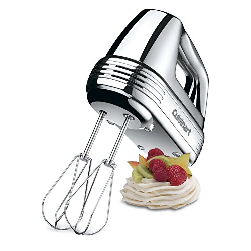 Cuisinart 7-Speed Hand Mixer, Brushed Chrome (Certified Refurbished)