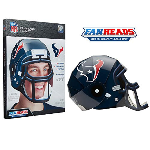 (FanHeads Houston Texans - Wearable NFL Replica Helmets - Pick Your Team!, Blue)