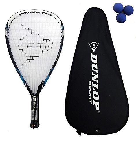 Dunlop Tour Nanomax raquetbol + 3 pelotas Dunlop £175