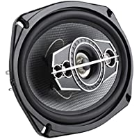 DS18 SLC-N69X 6 x 9 260W 5-Way Coaxial Speaker - Two Speakers Included