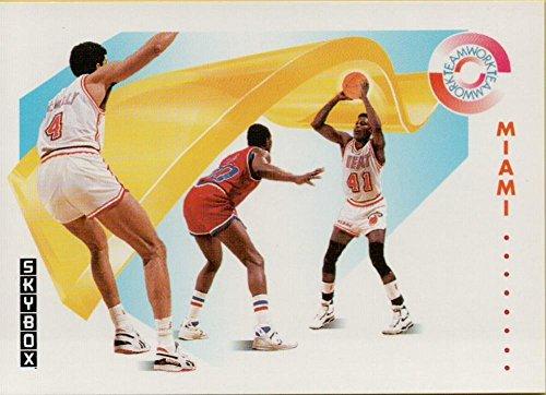 1991-92 SkyBox #472 Glenn Rice/Rony Seikaly TW Heat