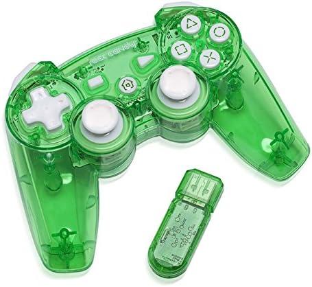 PDP - Mando Wireless Rock Candy, Color Verde (PlayStation 3): Amazon.es: Videojuegos