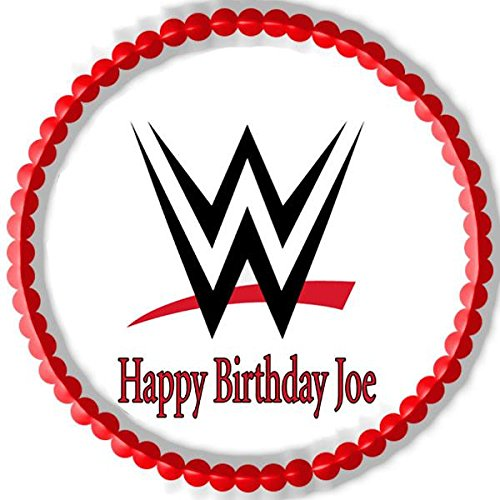 Tremendous Wwe Cake Toppers Shop Wwe Cake Toppers Online Personalised Birthday Cards Cominlily Jamesorg