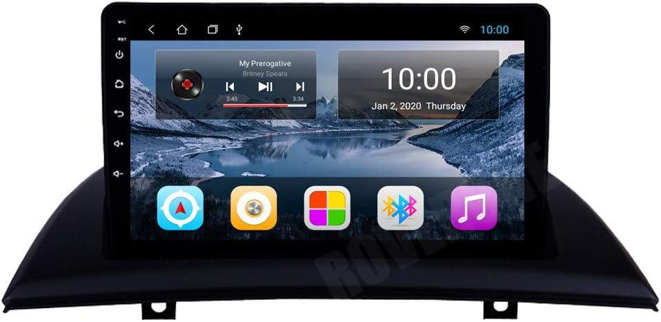 Roverone Android System 7 Zoll In Dash Autoradio Gps Für Bmw X3 E83 2004 2012 Mit Stereo Navigation System Dvd Bluetooth Sd Usb Touch Bildschirm Navigation