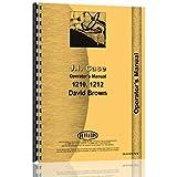 Case 1212 Tractor Operators Manual