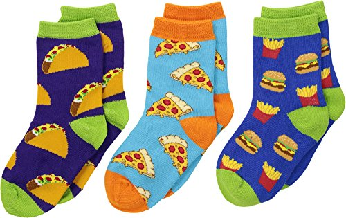 Socksmith Unisex Yummy In My Tummy (Toddler/Little Kid/Big Kid) Variety 12 Little Kid-5 Big Kid -