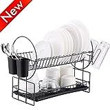 Best Dish Drying Racks - 2 Tier Dish Drying Rack, Kitchen Organizer Review