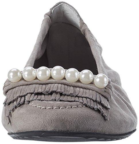 Schmenger Grau Ghost Kennel Mujer Bailarinas und Pearl Schuhmanufakturmalu 7PB6n65x