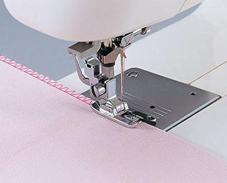HONEYSEW SA135 overlock vertical del pie Cubierto y coser una ...