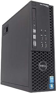 Dell Precision T1700 Business Tower Workstation PC Desktop Computer (Intel Core i3-4150, 16GB RAM, 1TB HDD, DVD-RW) Windows 10 Pro (Renewed)