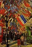 Vincent Van Gogh Fourteenth of July Celebration Paris Art Print Poster 12x18