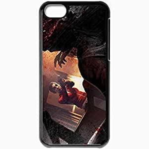 Personalized iPhone 5C Cell phone Case/Cover Skin Left 4 Dead Black