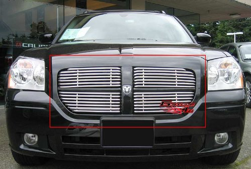New 05-07 Dodge Magnum Stainless Steel Tubular Grille Grill supplier