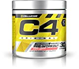 Cellucor C4 Original Pre Workout Powder Energy Drink w/ Creatine, Nitric Oxide & Beta Alanine, Cherry Limeade, 30 Servings