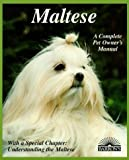 img - for Maltese (Complete Pet Owner's Manual) by Joseph Fulda (1995-09-01) book / textbook / text book
