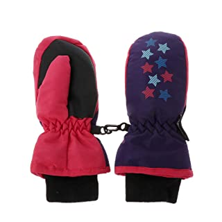 Set of Two Pairs Stretch Magic Mittens for Infants Ages 3-12 Months