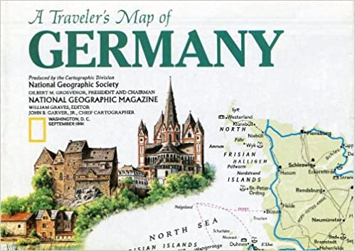 Map Of Germany Throughout History.Germany 1 1 581 000 Traveler S Map National Geographic National