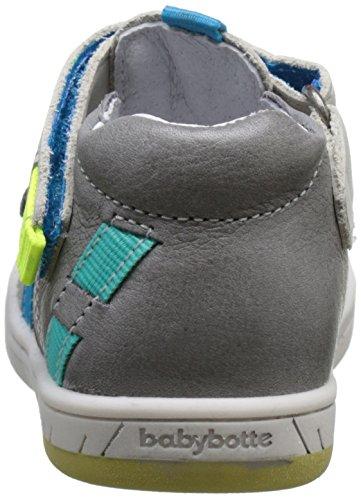 babybotte Steppe, Zapatillas Altas para Niños gris