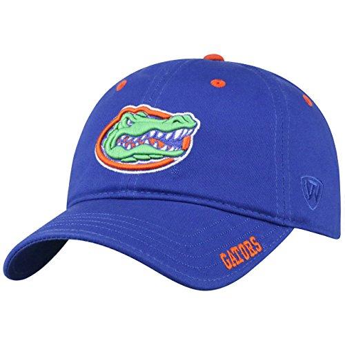 (Top of the World Florida Gators Adult NCAA Campus Classic Relaxed Fit Adjustable Hat - Team Color, )