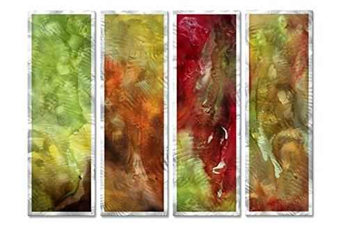 Through Rose Colored Glass' Metal Décor Contemporary