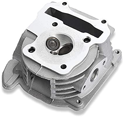 AH GY6 60cc 44mm Cylinder Head Assy With 69mm Valves for QMB139 Scooter Moped