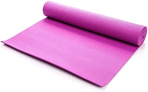Esterilla Fitness Yoga Gran Grosor Ejercicios en el hogar y en los Clubes de Fitness Antideslizante ecológica 180 x 60 x 0.5 cm
