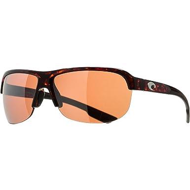 473415aab8603 Costa Coba Polarized Sunglasses - 580 Polycarbonate Lens Tortoise Sirlver  Mirror 580P