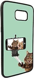 Silvie picture - cats Printed Case forGalaxy S7 Edge