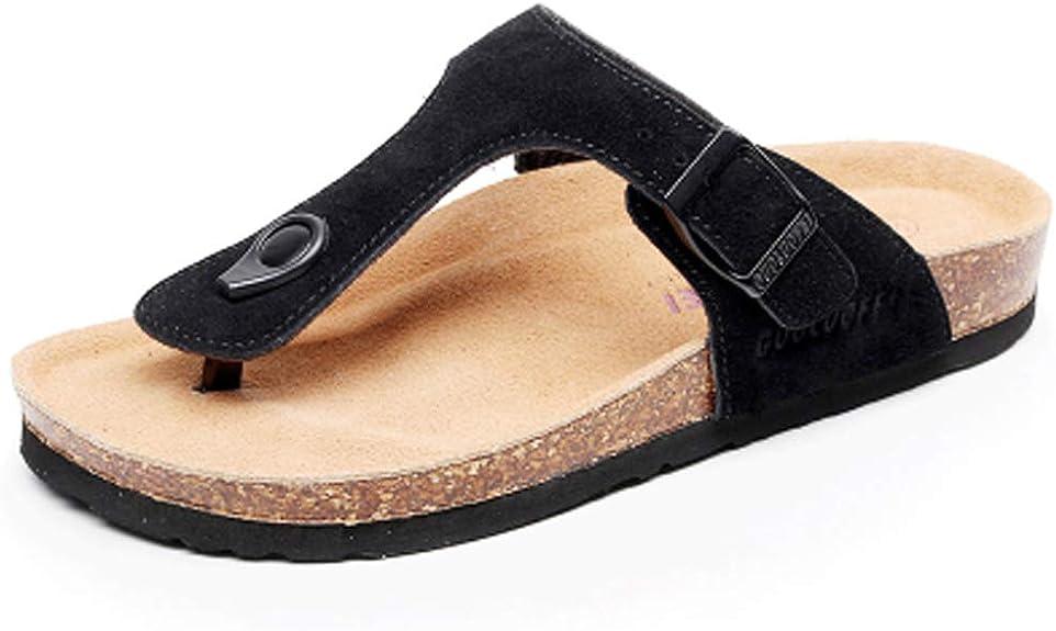 sandalia en corcho para mujer