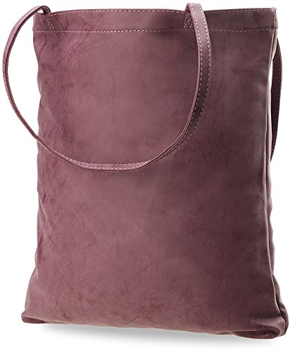 große Damentasche Shopperbag Handtasche mit Schlüsseletui bordeaux