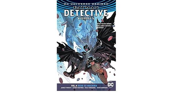 Batman - Detective Comics (2016-) Vol. 4: Deus Ex Machina ...
