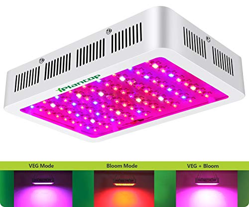 1000w LED Grow Light with Bloom and Veg Switch,iPlantop Triple-Chips...