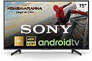Smart TV LED, Grande, Sony, XBR-75X805G, 75, Preta, Compatível com Alexa