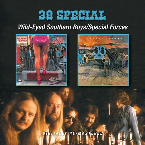 .38 Special - Wild-Eyed Southern Boys / Special Forces (CD)