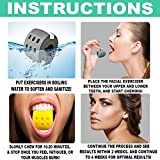 Jaw Exerciser and Neck Toner - 3 Pack With 3 Levels