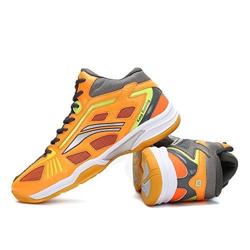 Da Katliu Interior Running Tennis Uomo Corsa Arancione Scarpe Sneakers All'aperto Squash Donna Pallavolo Unisex Badminton xFTrI