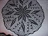 Black Lace Lily of the Valley, 22 inches, Home Decor