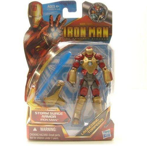 Iron Man The Armored Avenger Figure Concept Series Storm Surge Armor Iron Man #46