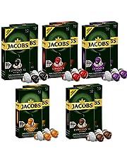 Jacobs Aluminium Nespresso® * compatibele koffiepads - verpakking van 10 stuks (100 porties)