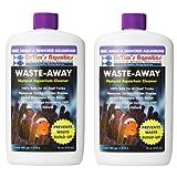 DrTim's Aquatics Waste-Away Natural Aquarium Cleaner for Reef and Nano Aquariums, 16-Ounce (2 Pack)