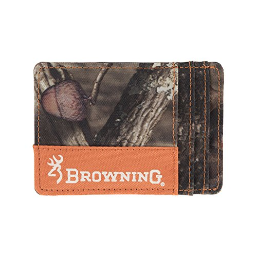 Browning Front Pocket Camo Wallet with Money Clip